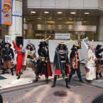 伊達武将隊「がんばれ宮城! がんばれ東北!」最終日