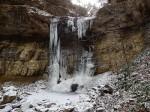 三居沢不動尊のお滝(氷結始まってます)【2/9追記しました】