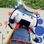 仙台・青葉まつり(2015)でのむすび丸課長
