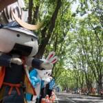 仙台国際ハーフマラソン(2015)でのむすび丸課長
